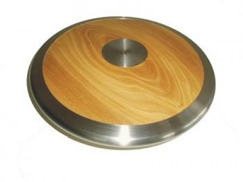 Atletický disk Sedco dřevo-chrom 1012