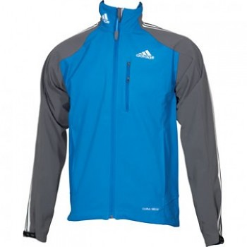 Běžecká bunda Adidas Climaproof Softshell Mens blue