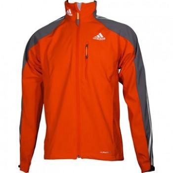 Běžecká bunda Adidas Climaproof Softshell Mens orange