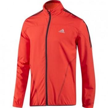 Běžecká bunda Adidas Mens Response Wind Running Jacket red