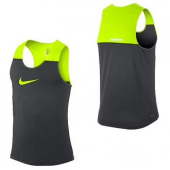 Atletické tílko Nike Dri-Fit Racing BLACK&GREEN