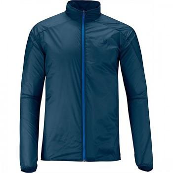 Běžecká bunda Salomon S-LAB LIGHT JACKET M MODRÁ