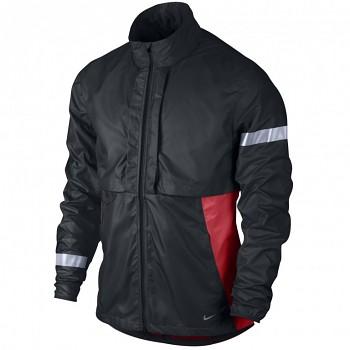 Běžecká bunda Nike Shifter ČERNÁ&ČERVENÁ