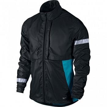 Běžecká bunda Nike Shifter ČERNÁ&MODRÁ