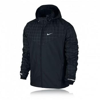 Běžecká bunda Nike Flicker Vapor ČERNÁ