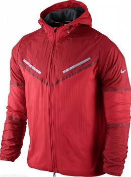 Běžecká bunda Nike Cyclone ČERVENÁ