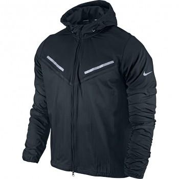 Běžecká bunda Nike Cyclone ČERNÁ