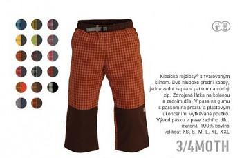 UNI 3/4 kalhoty Rejoice 3/4 Moth