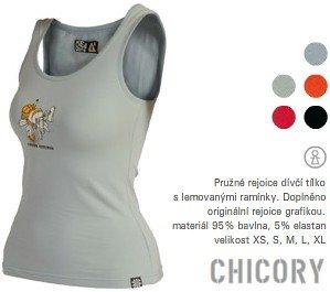 Dámské tílko Rejoice Chicory - černé, velikosti: L
