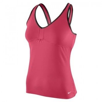 Dámské tílko Nike LEGACY FASHION LONG BRA 380507- 645