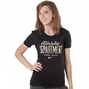 Dámské tričko Nike GOOD HERT ATH DEPT SCRIPT 382646 010