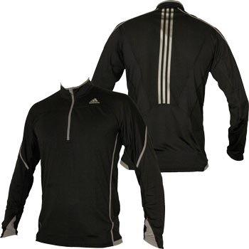 Běžecká střední vrstva Adidas adiStar Half-Zip Long Sleeve Top E81139