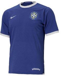 Nike Brazílie Dres Away 2006/2008-103890 493*