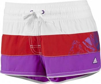Dámské šortky přes plavky Adidas colorblock shorty X13168 skladem