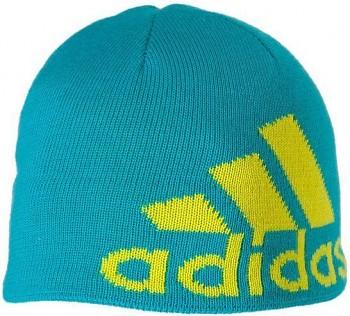 Zimní unisex čepice Adidas Knit Logo Beanie W44353