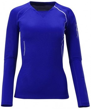 Dámské běžecké triko Salomon TRAIL RUNNER + LS TEE W 309641