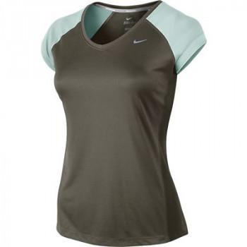 Dámské běžecké triko Nike MILER SS  , velikost: XS