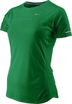 Dámské běžecké triko Nike MILER GREEN  , velikost: XS