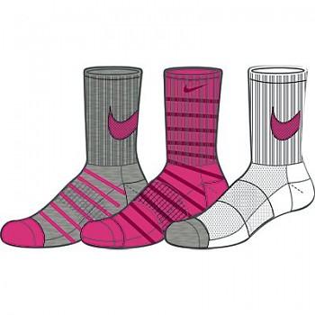 Dámské ponožky Nike SX4774 3 páry GIRL'S GRAPHIC