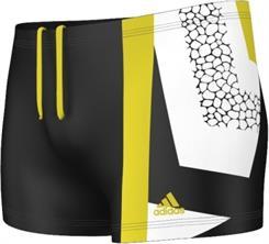 Pánské plavky Adidas II+ XTR BX BLACK/VIVYEL G81135, velikosti: S a S/M