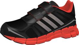 Dětské běžecké boty Adidas adifast CF K ČERNÉ