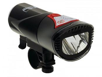 Světlo přední M-WAVE 1 High Power LED dioda bílá , svítivost 20luxů