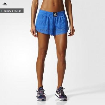 Adidas BK7977 Two-in-One Mesh dámské běžecké šortky