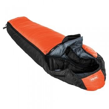 Dětský spacák Prima Tulák TE 155 oranžový - levý zip