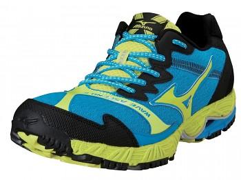 Běžecké boty Mizuno Wave Ascend 8 Trail MODRÁ SKLADEM