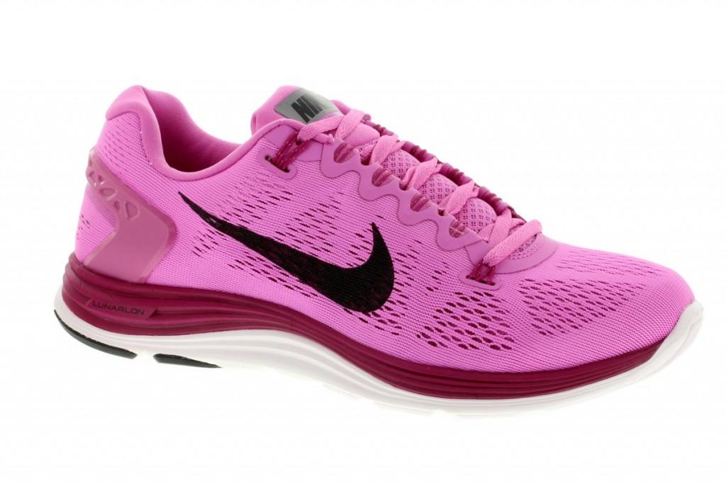 Elitní dámské běžecké boty NIKE LUNARGLIDE+ 5 RŮŽOVÉ SKLADEM