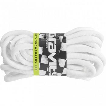 Tkaničky Gravity Boot laces - bílé