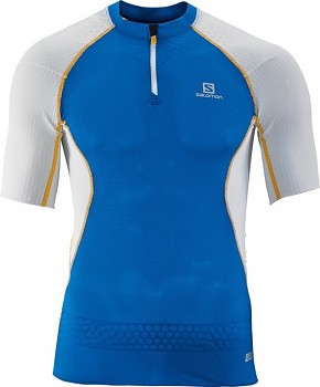 Běžecké triko Salomon S-LAB EXO ZIP TEE M 359561