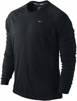 Běžecká mikina Nike Miler UV ČERNÁ SKLADEM