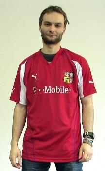 Fotbalový dres české reprezentace Puma VÝPRODEJ