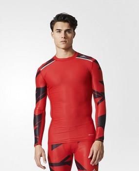 Adidas BK6179 TECHFIT CHILL GRAPHIC běžecké triko