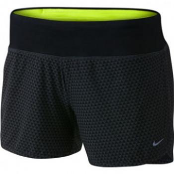 """Dámské běžecké šortky Nike Rival 4"""" ČERNÁ&ŠEDIVÁ  , velikosti: S"""