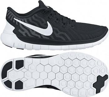 Dámské běžecké boty NIKE FREE 5.0 ČERNÉ 2