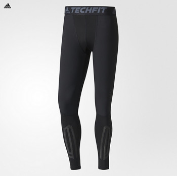 Adidas B45499 TECHFIT TOUGH LONG běžecké kalhoty