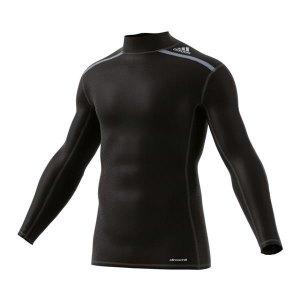 Adidas AI3340 Běžecké triko TECHFIT CHILL Mock Neck Longsleeve