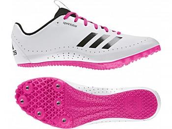Dámské sprinterské tretry Adidas Sprint Star W - bílé