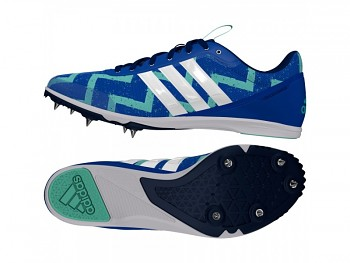 Běžecké tretry Adidas Distancestar - modré