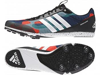 Běžecké tretry Adidas Distancestar - strakaté