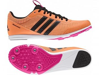 Dámské běžecké tretry Adidas Distancestar -oranžové