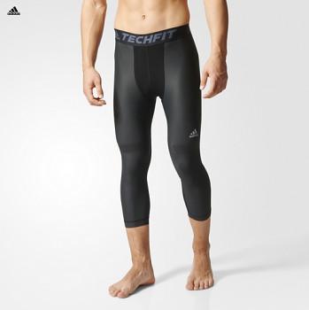 Adidas AI3825 TECHFIT CHILL 3/4 TI Běžecké kalhoty