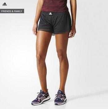 Adidas BK7966 Two-in-One Mesh dámské běžecké šortky