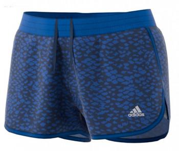 Adidas BK6896 100M Dash Knit Print dámské běžecké šortky